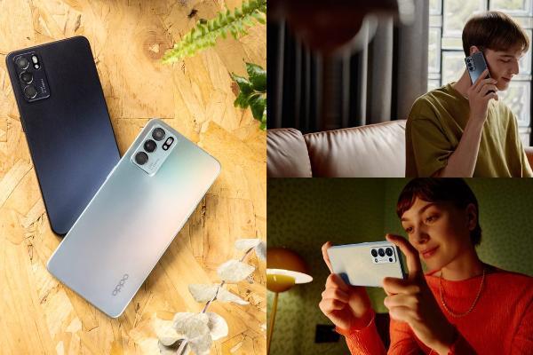 OPPO Reno6系列登台:AI人像录像、极美极光蓝与暮光灰新登场