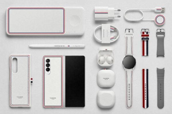 真的太美!Galaxy Z Fold3/ Flip3 5G「Thom Browne」全新限定设计
