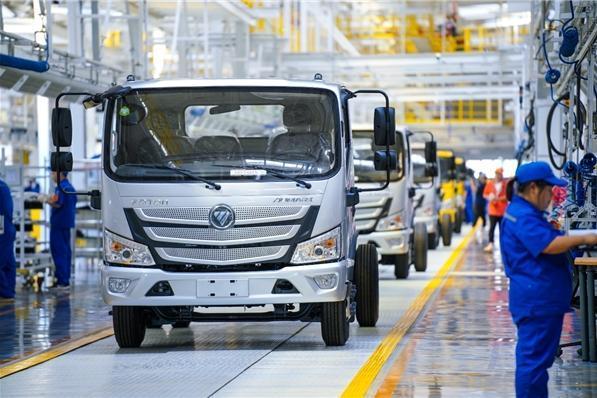 欧马可S1超级卡车率先搭载福康F2.5动力,为城市物流而生!
