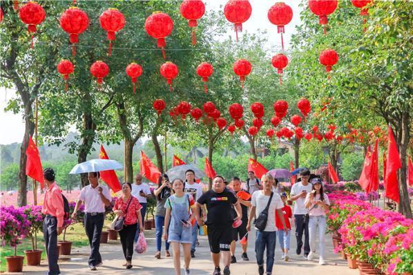广东国庆自驾一日游怎么玩?佛山高明盈香生态园景区推出低密度游