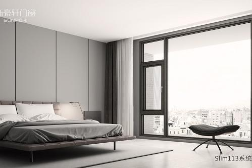 新豪轩门窗:天生好「色」,为家居空间增添艺术感!