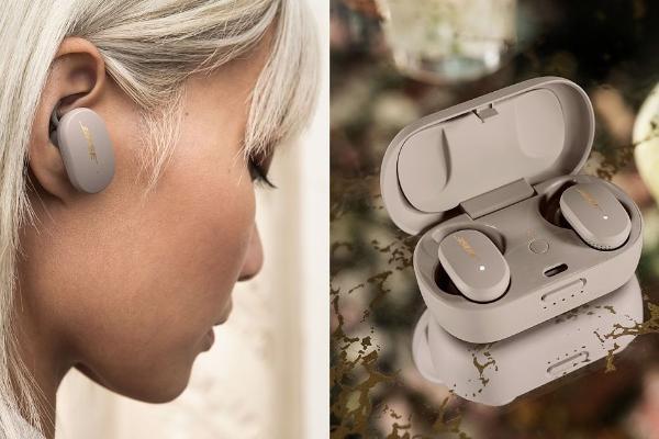 限量色「石墨蓝、砂岩金」Bose消噪耳塞极美!一键播放 Spotify、还有11级消噪等级