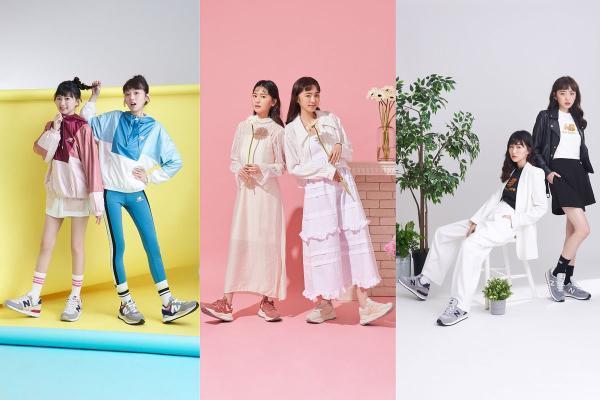下半年必买NB爆款鞋『574、57/40』,潮模姐妹花CLEO和简廷倪指定、脚踩经典突破自我!