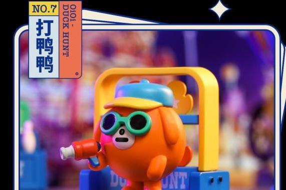 「MOMO PLANET」M.01 MINI系列盲盒第一季「FUN FAIR | 游园会」正式发布