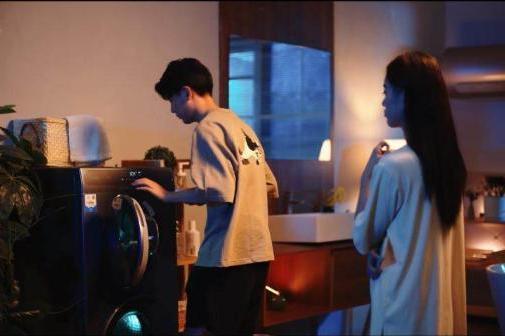 """不会用智慧功能?Leader洗衣机运行只需""""碰一碰""""""""拍一拍""""!"""