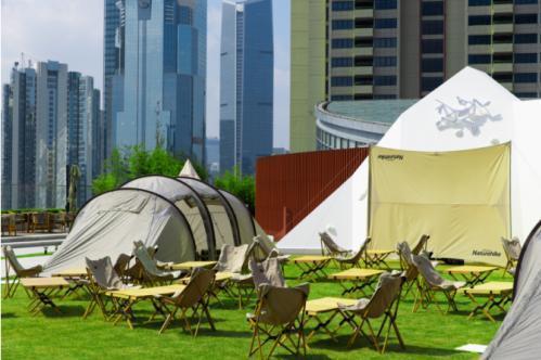 GO GLAMPING限时户外露营空间 9月26日登陆上海恒隆广场