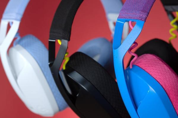 Logitech G可爱双模无线耳机G435轻盈三色潮翻登场,畅玩享乐不受限!