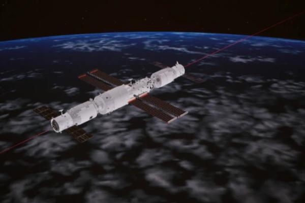 天舟三号交会对接空间站组合体 全面验证飞船各项技术升级的正确性
