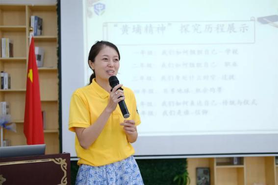 广州市侨联调研团参访黄埔区中大附属外国语实验学校