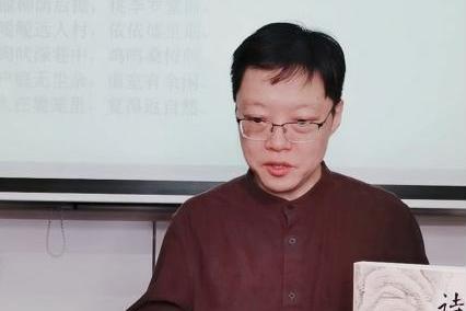 华东师范大学教授方笑一抖音直播讲解陶渊明诗歌,6万人观看