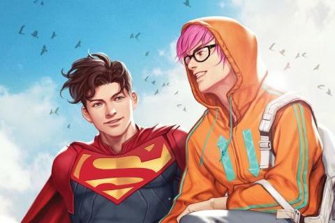 DC漫画《Superman: Son of Kal-El》中新超人出柜为双性恋