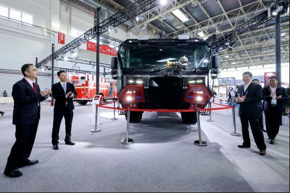 绿色消防、低碳创新,豪士科新车助力消防行业节能环保