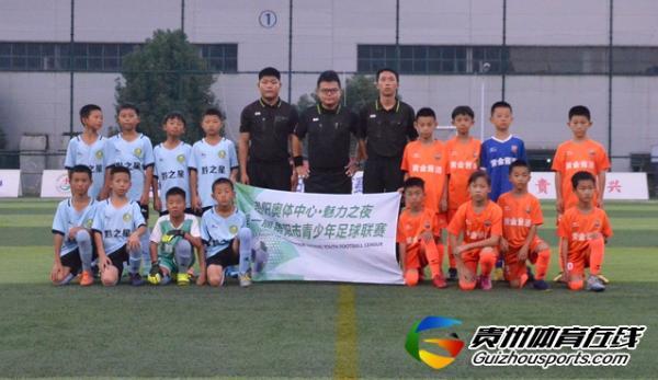 贵阳市青少年足球联赛 贵州追风小将4-0黔之星U10