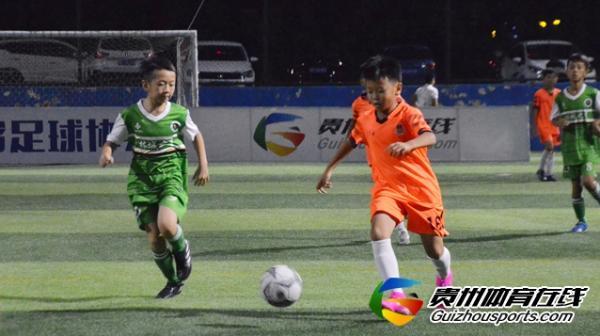 贵阳市青少年足球联赛 林城之星1-4贵阳葫芦火队