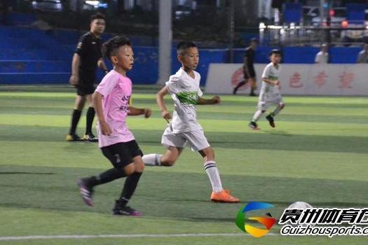贵阳市青少年足球联赛 睿蜂战队2-4林城之星
