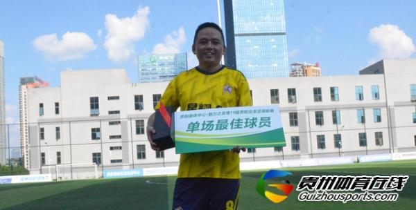 润铁祥3-3银利·星耀FC(A队) 韦航取得进球