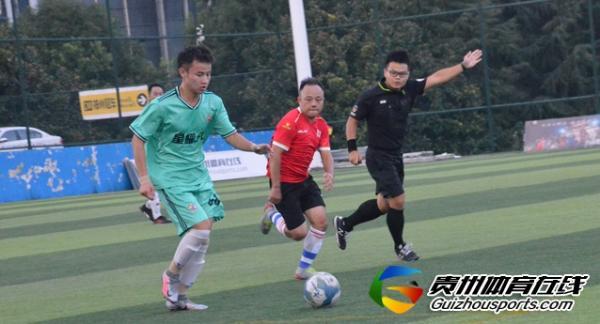 银利·星耀FC(A队)0-3GOPLAY玩去生活 罗云介上演帽子戏法
