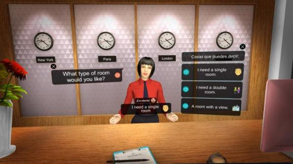 VR语言学习应用「Mondly:Learn Languages in VR」登陆Oculus Quest
