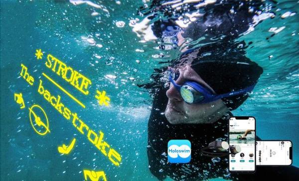 99美元,光粒发布AR全息智能泳镜Holoswim,开启全球众筹