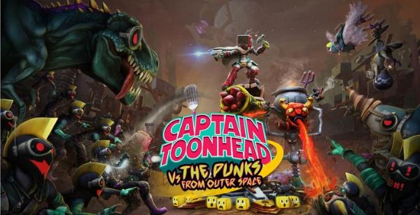 VR塔防射击游戏「Captain Toonhead vs the Punks from Outer Space」即将推出