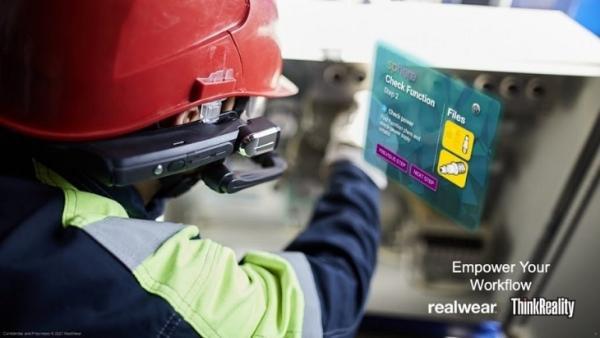 联想和RealWear合作打造企业级XR解决方案