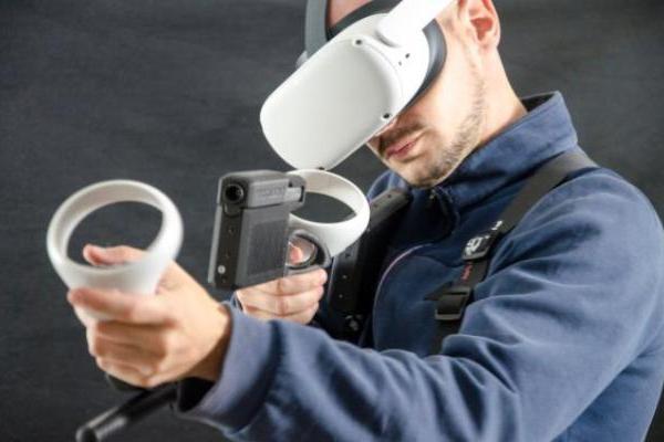 "法国VR枪托外设厂商ProTubeVR发布全新触感模块""ForceTube Scout"""