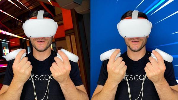 """基于iPhone摄像头:""""Live Overlay""""功能支持Quest 2用户拍摄实时VR游戏视频"""