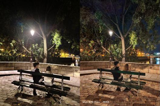 V1芯片加持 vivo X70系列实现夜景创作自由