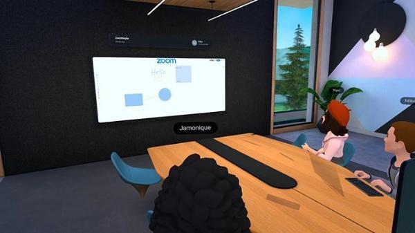 致力于VR办公:Facebook「Horizon Workrooms」即将与「Zoom」整合