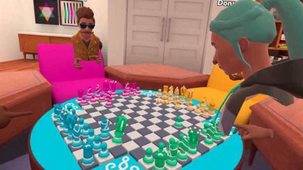 强社交属性:多人VR棋牌游戏「Neverboard」即将登陆Oculus Quest