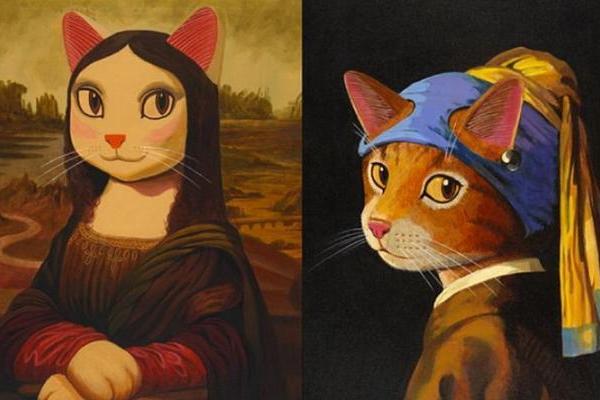 """Step into Cat Art""VR画展即将在VIVEPORT举办"