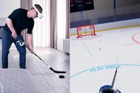 支持室内打曲棍球:VR曲棍球游戏「Hockey VR」已登陆App Lab