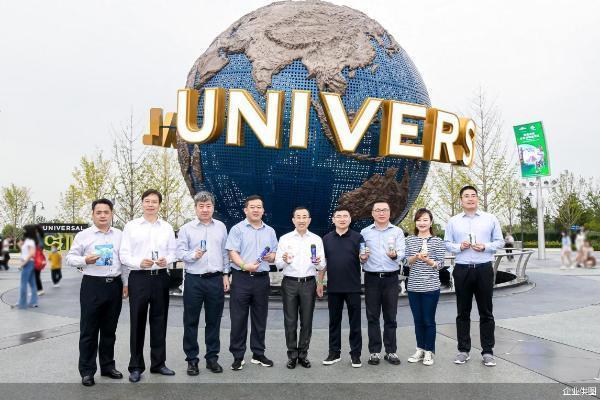 有牛劲 玩得真带劲!北京环球度假区蒙牛品牌日成功开启