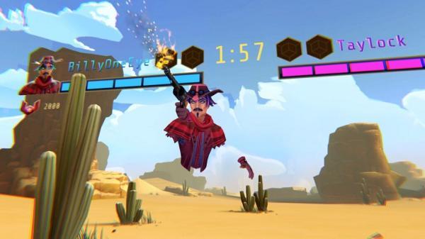 VR射击游戏「Blaston」推出周年庆更新