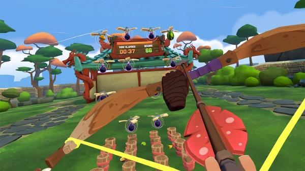 VR休闲游戏「水果忍者VR 2」demo版发布