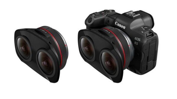 佳能发布全新EOS VR系统,采用双鱼眼镜头