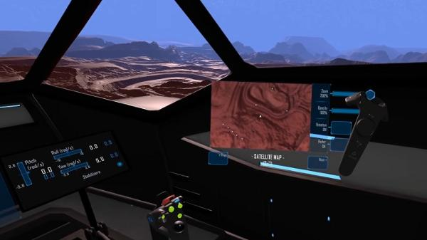 PCVR太空飞行模拟游戏「Tinker Pilot」Alpha版推出