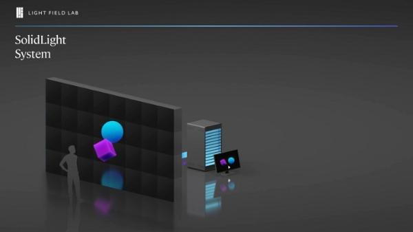 美国全息技术公司Light Field Lab推出全新3D视觉效果解决方案