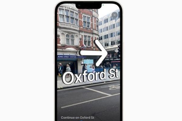 苹果「Apple Maps」应用AR步行导航功能更新
