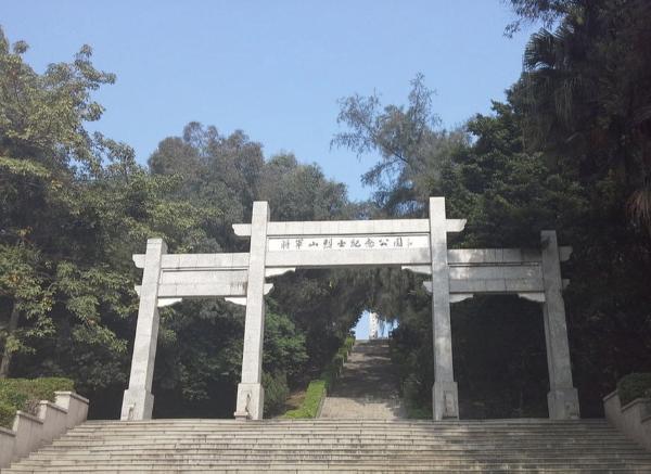 将军山上的纪念碑