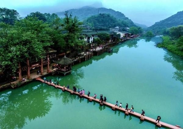 图说天府旅游名县 | 洪雅:一城山水,康养万家