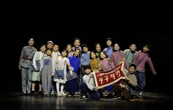 """红色儿童剧《孩子剧团》:当代小学生隔空致敬""""同龄人"""""""