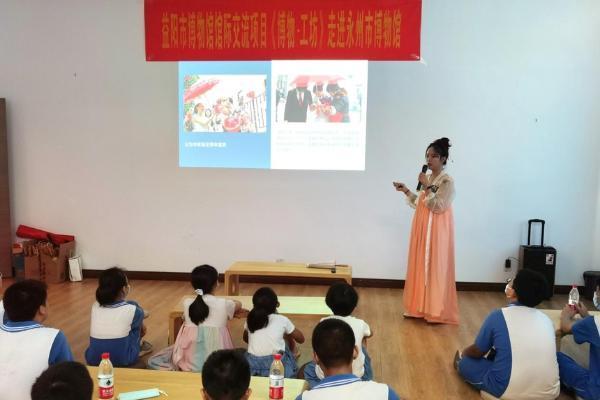 """""""博物·工坊""""彩绘油纸伞:中小学生与永州市博物馆的一次美丽际遇"""