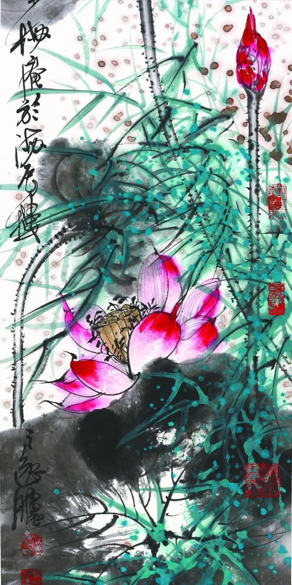 深圳文博会 | 暮年诗力在 新画更幽微——读史文集的画