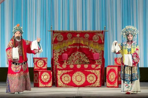 于魁智、李胜素领衔传统大戏京剧《龙凤呈祥》亮相顺义