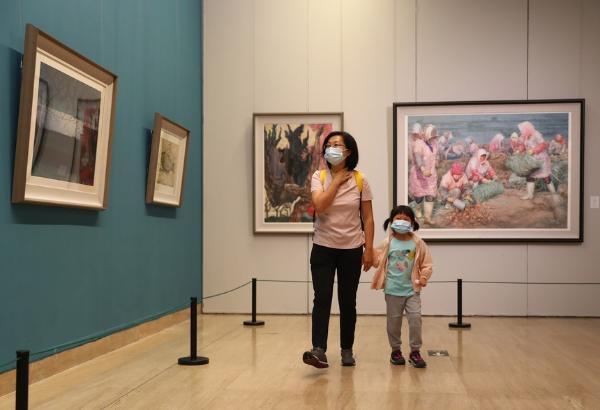 """艺术   """"青岛水彩""""亮相中国美术馆"""