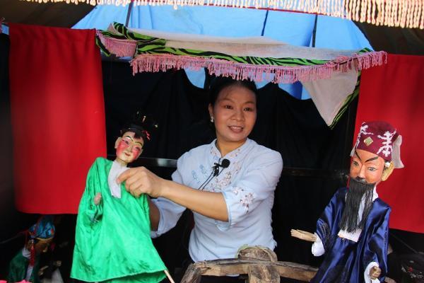 潜山木偶戏复排 记录传承文化瑰宝