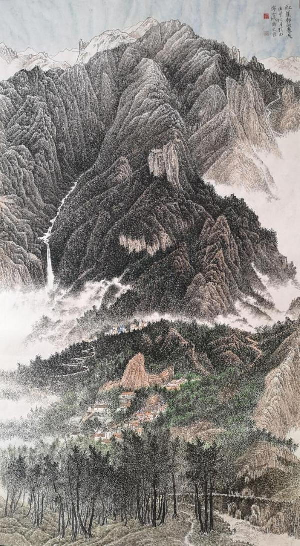 80件少数民族青年作品展现青海美景诠释青海文化
