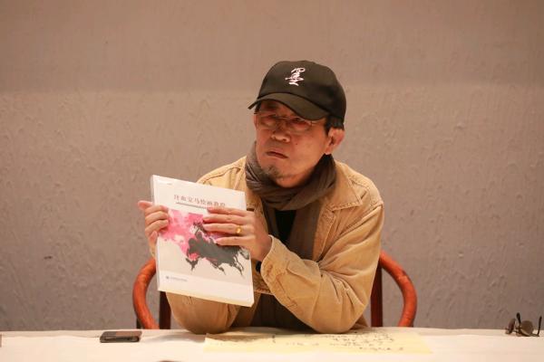 公共 | 红装墨相 宝马情缘,刘咏阁《汗血宝马绘画教程》新书发布会在京举行