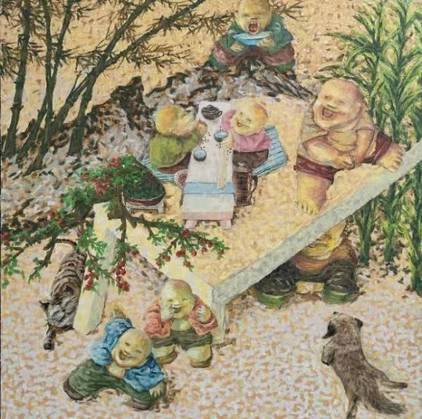 艺术老顽童的纯真《童谣》世界